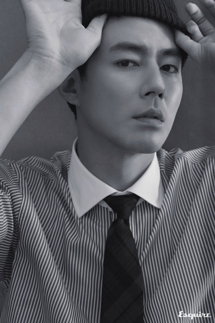 Jo In Sung Korea Esquire magazine