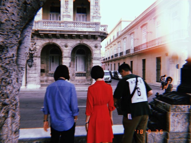 Song hye Kyo filming in havana Cuba