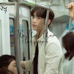 Seo Kang Joon stares at Esom on a subway