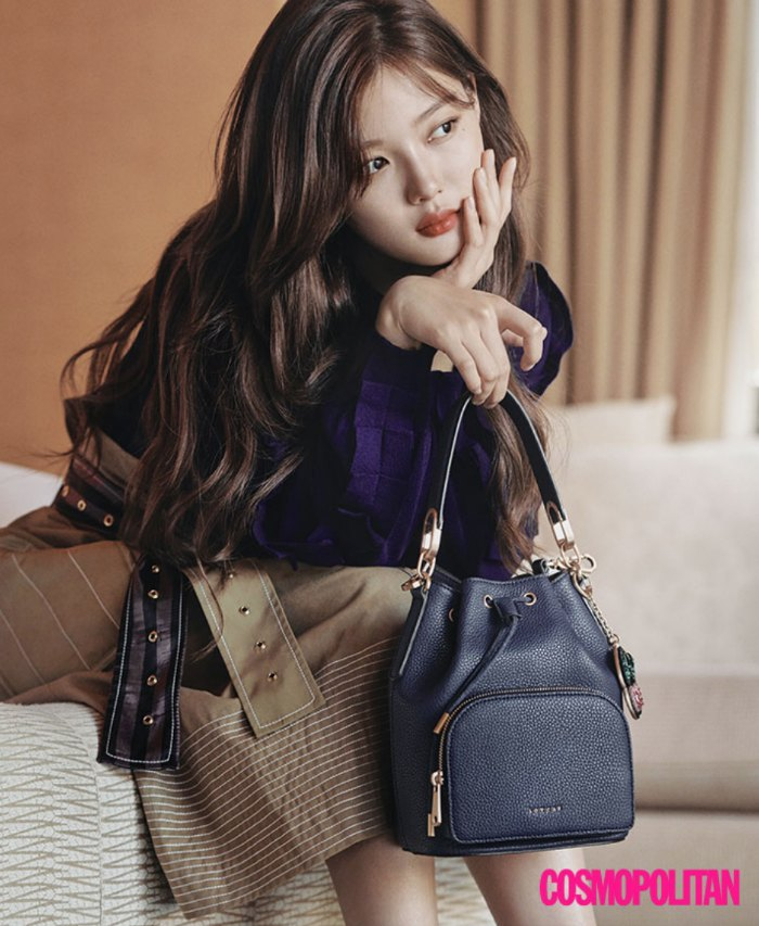 Kim Yoo Jung Modeling for Cosmopolitan Korea Magazine Photoshoot
