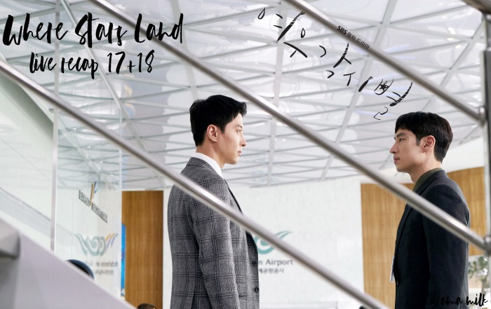 Lee Je-hoon stares at his step brother in Where Stars land Live Recap Episode 17 and 18