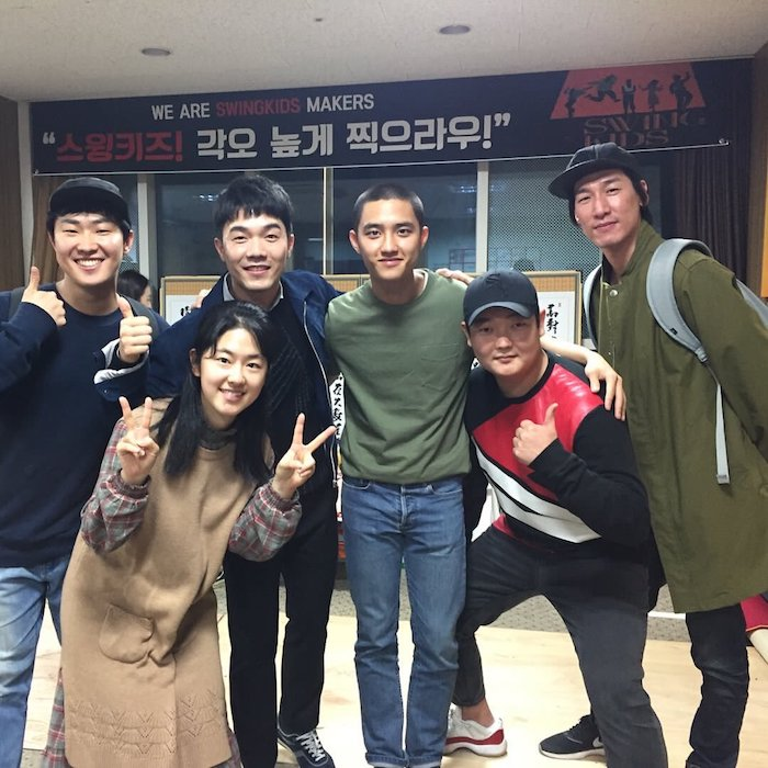 Cast for the Korean Movie Swing Kids