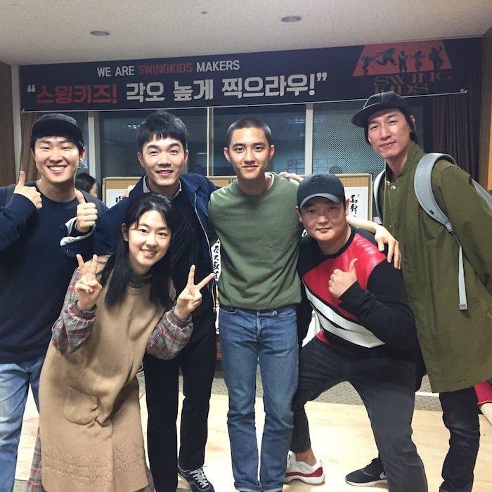 Cast for the Korean Movie Swing Kids