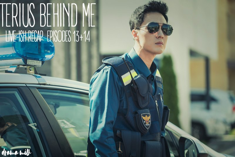 So Ji Sub in a security uniform and shades on Terius Behind Me