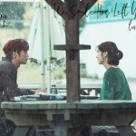 Jung So-Min and Seo In-Guk speaking at a table outside in The Smile Has Left Your Eyes