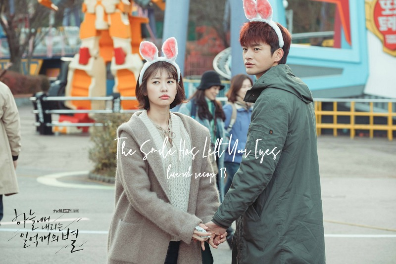 Bunny ears andn holding hands in Korean Drama The Smile Has Left Your Eyes