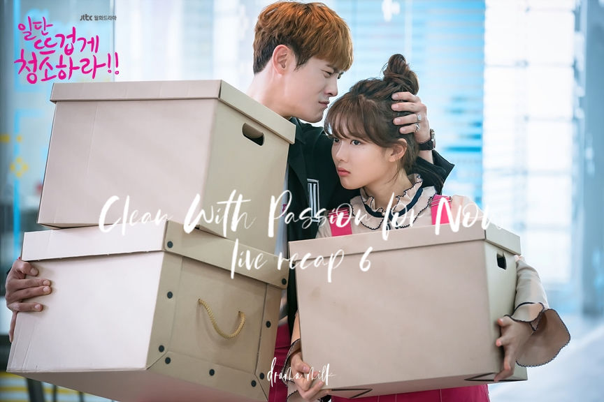 Korean Drama Clean With Passion Episode 6