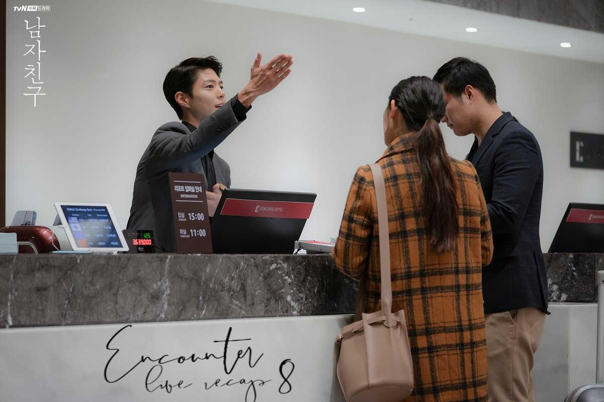 Korean Drama Encounter/Boyfriend live recap episode 8 starring Park Bo Gom and Song Hye Kyo