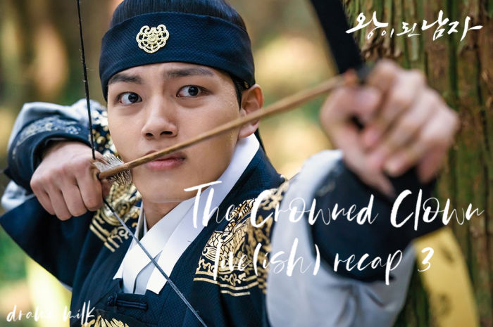 The Crowned Clown: Episode 3 Live Recap • Drama Milk