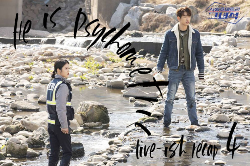 He is Psychometric: Episode 4 Live Recap
