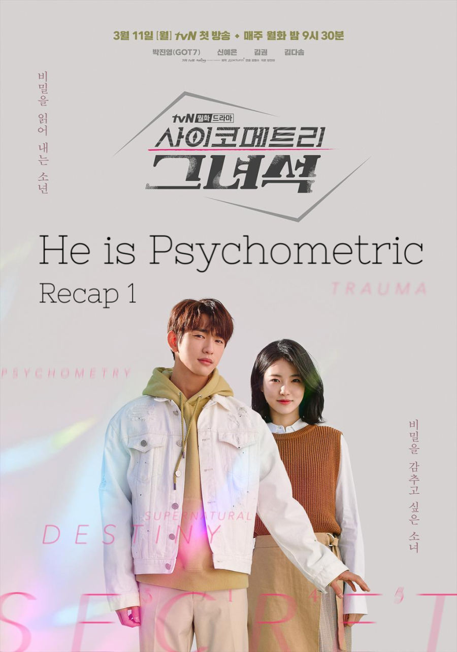 He is Psychometric Recap 1