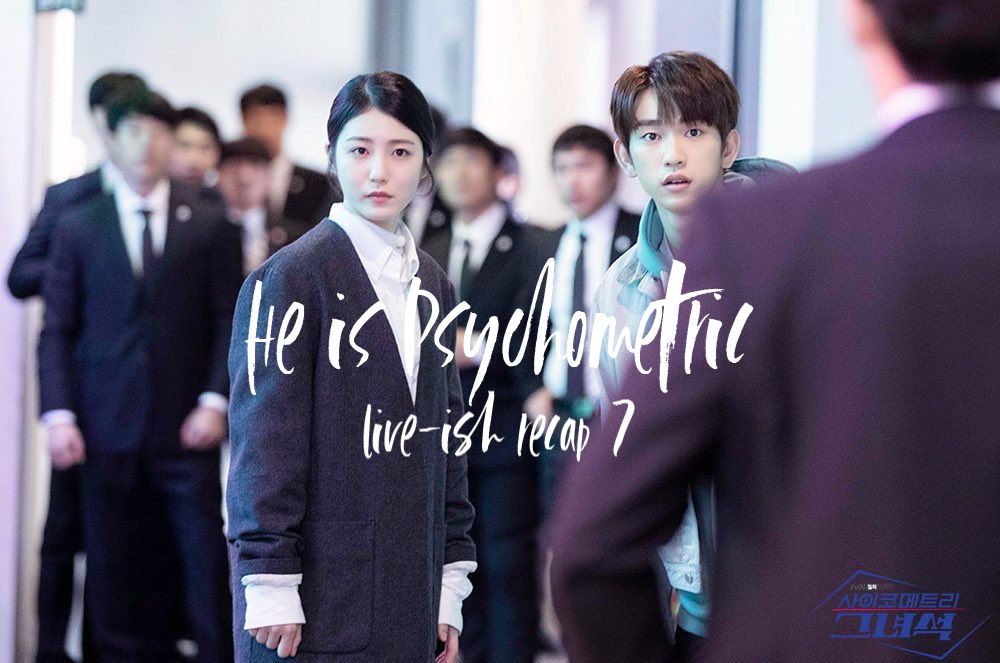 He is Psychometric recap 7