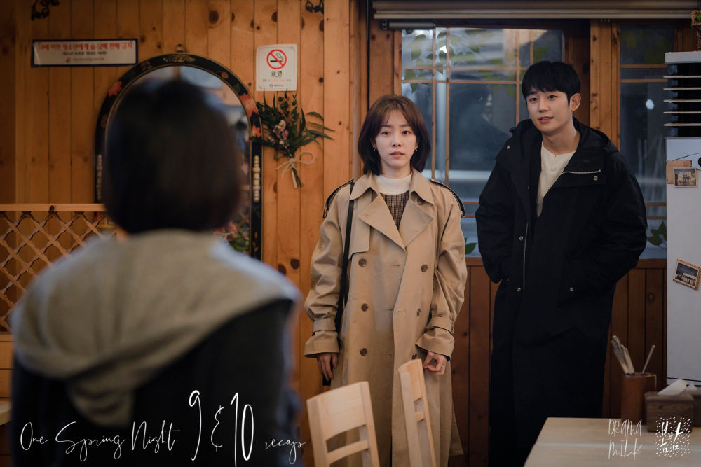 One Spring Night Recap episodes 9 and 10 with Han Ji Min and Jung Hae In