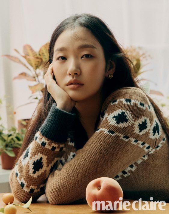 Jung Hae-in and Kim Go-eun for Marie Claire Korea