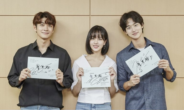 Script reading for Korean Drama The Tale of Nokdu
