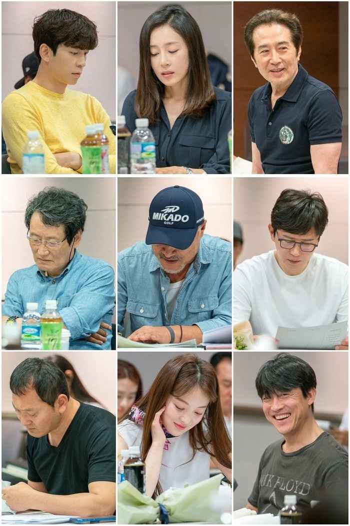 Korean Drama Vagabond Script Reading