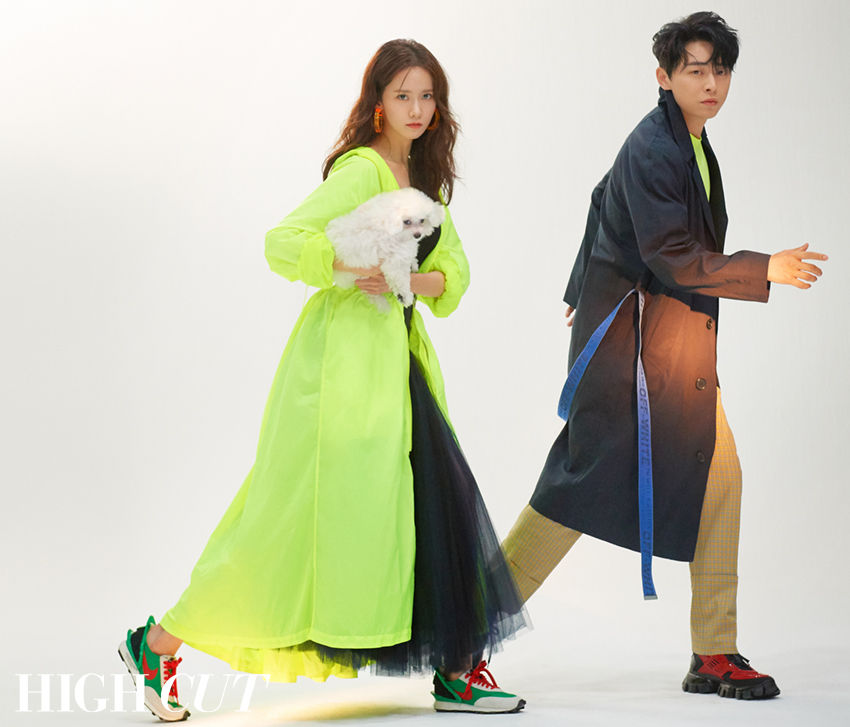 Im Yoo-na and Jo Jung-suk for High Cut Magazine