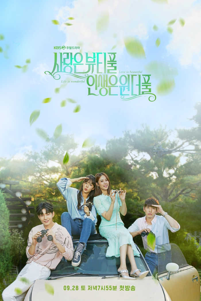 Kdrama Beautiful Love, Wonderful Life poster