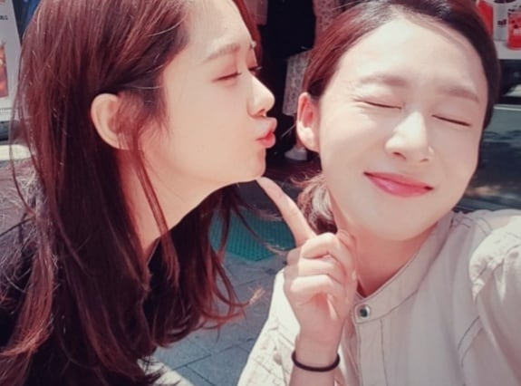 Kisses behind the Scenes of Kdrama VIP with Jang Nara and Lee Jin-hee