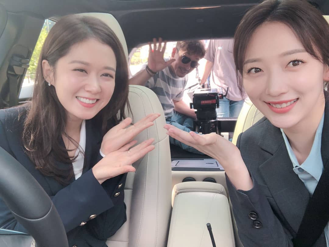 Behind the Scenes of Kdrama VIP with Jang Nara and Pyo Yejin