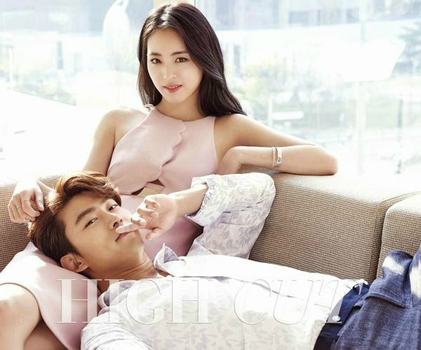 Taecyeon and Lee Yeon-hee for High Cut Magazine