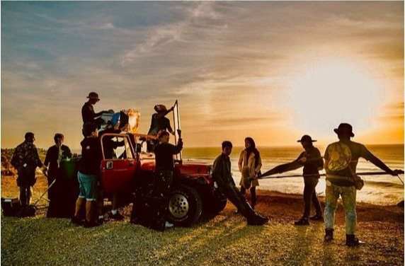 Vagabond Behind the Scenes Set Images with Lee Seung-gi and Suzy