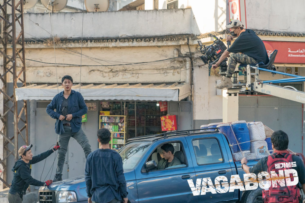 Behind the Scenes of Vagabond in Morocco