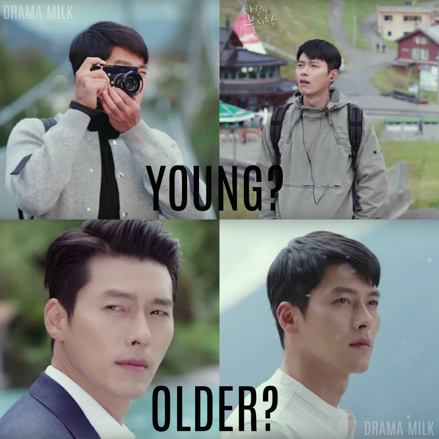 The different looks of Hyun Bin in the Crash Landing on You trailer