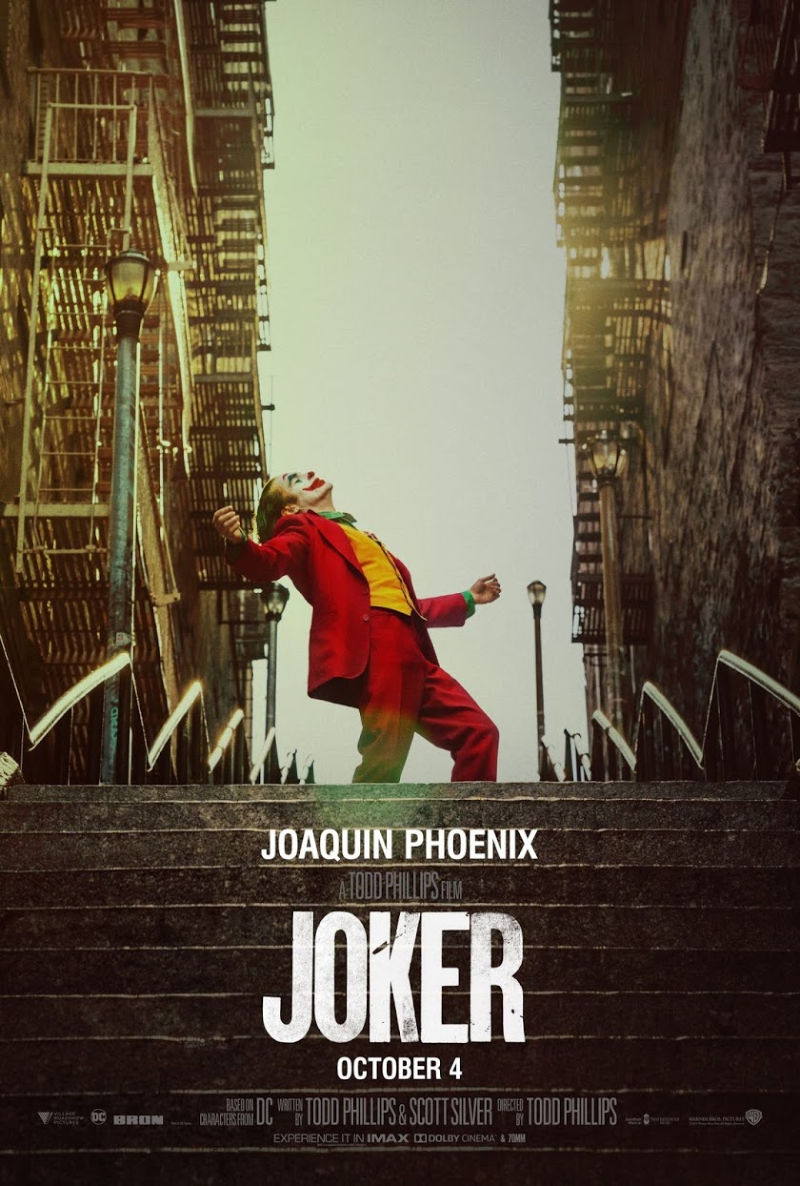 Joaquin Pheonix in The Joker dominates Korean box office