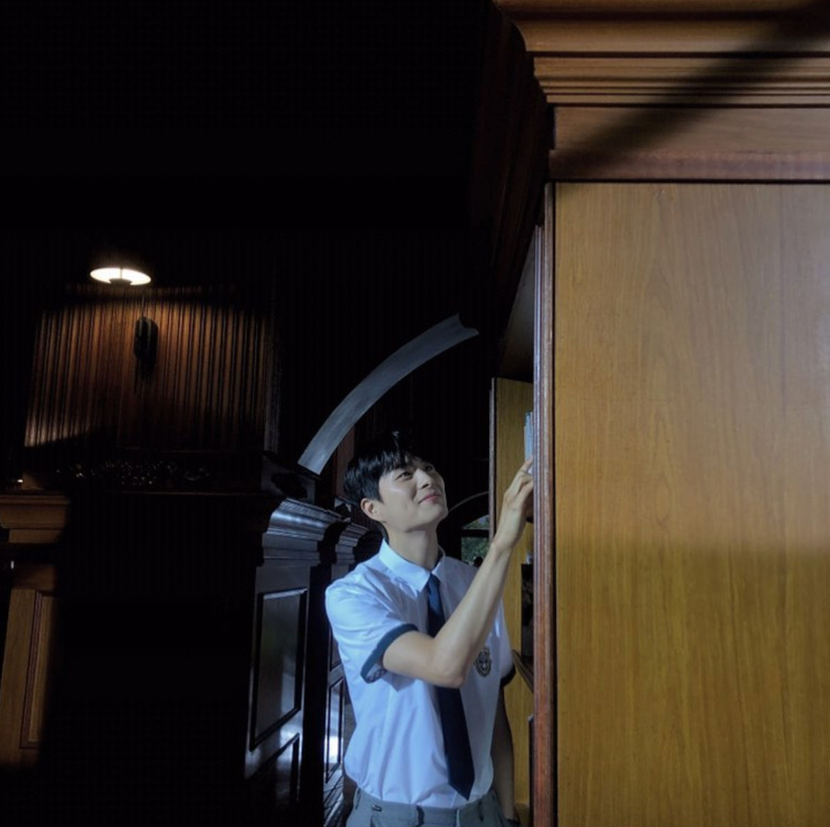 Jung Gun-joo behind the scenes in Extraordinary You