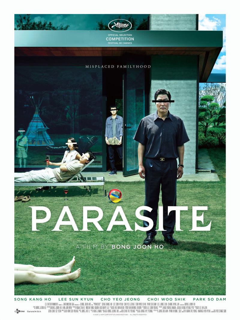 Parasite Korean Movie Poster