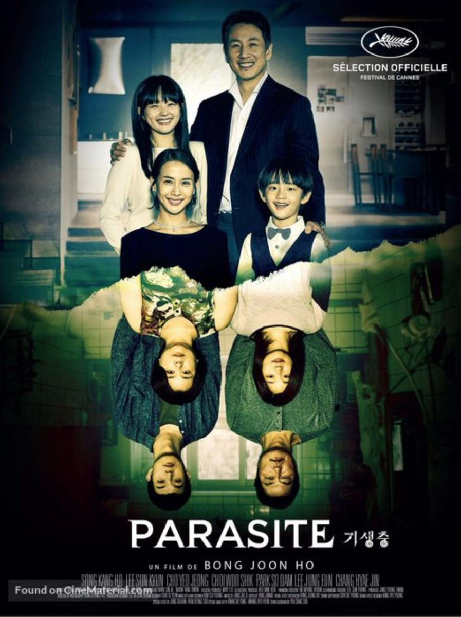 Image result for Parasite film poster