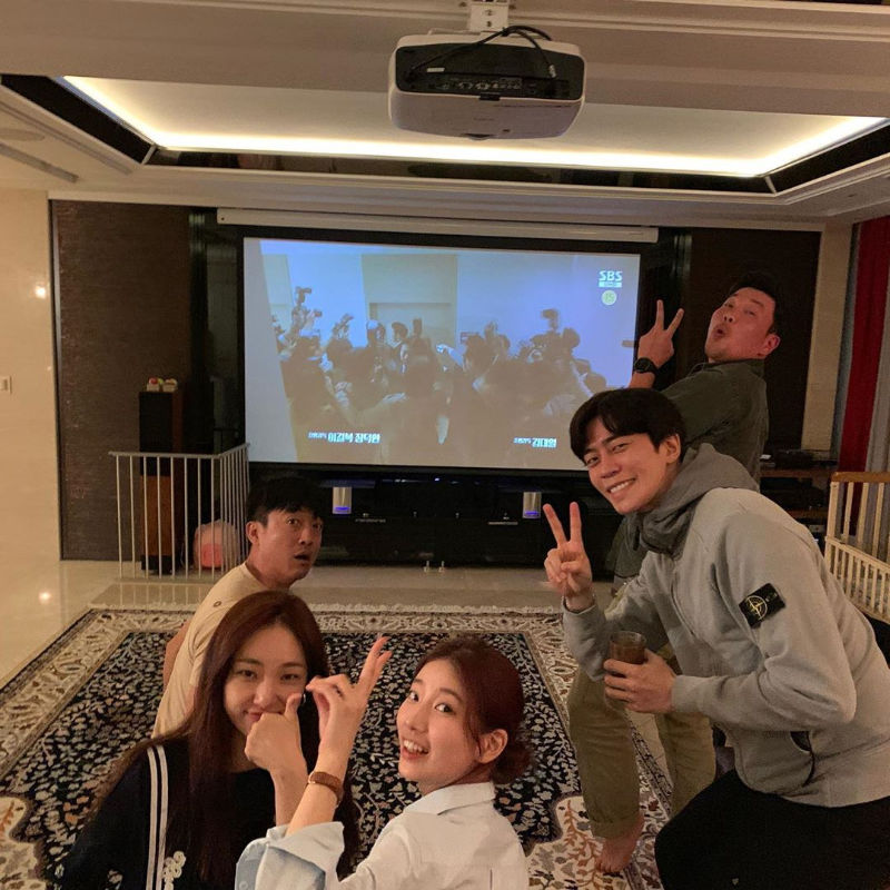 Cast watch party for Vagabond with Lee Seung-gi, Bae Suzy, Shin Sung-rok and more