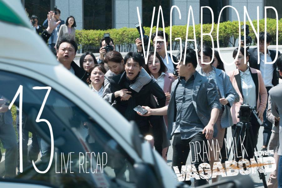 Vagabond: Episode 13 Live Recap • Drama Milk