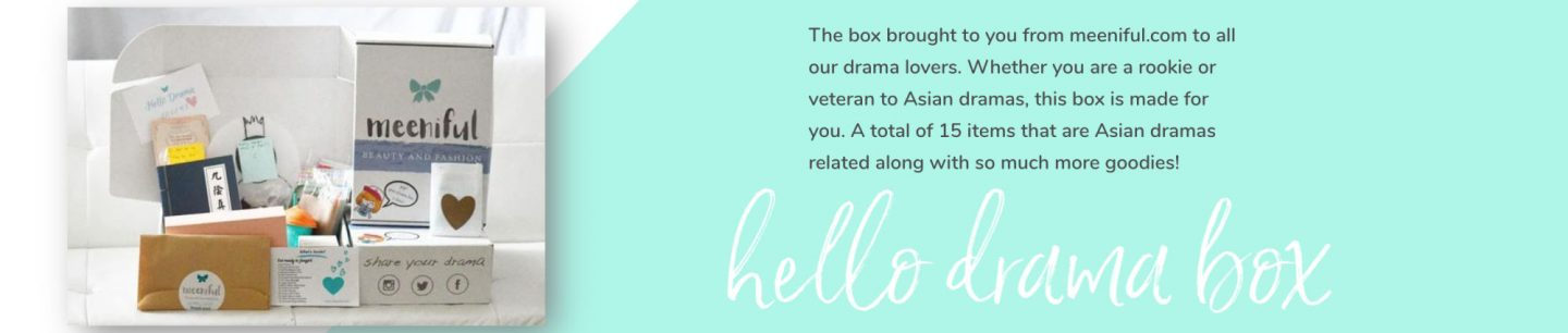 Korean Drama Box Subscription Box