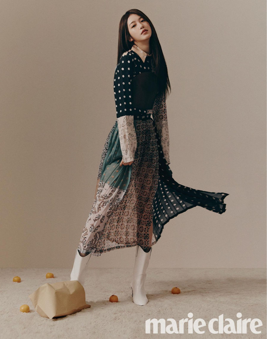 Outfit of the Day: Shin Ye Eun for Marie Claire