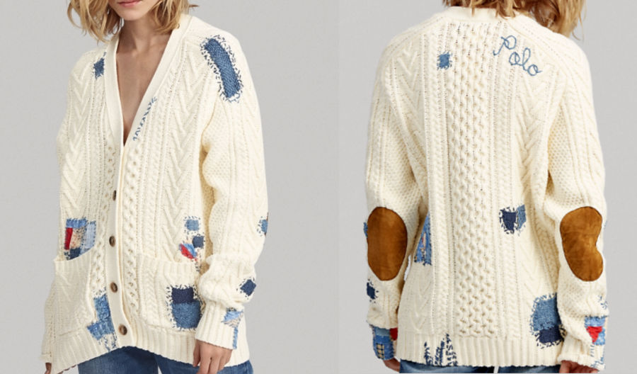Get the Look: Ralph Lauren Knit Boyfriend Cardigan from A Piece of Your Mind