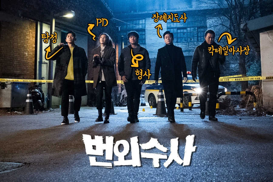 Team Bulldog off Duty Investigation Kdrama
