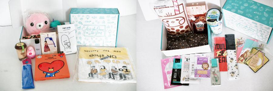 Korean Drama Boxes with Hello Drama Box and Meeniful