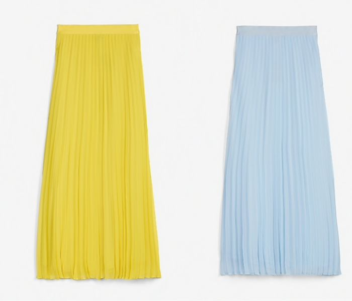 Get the Look: Sun-woo's Pink Pleated Skirt