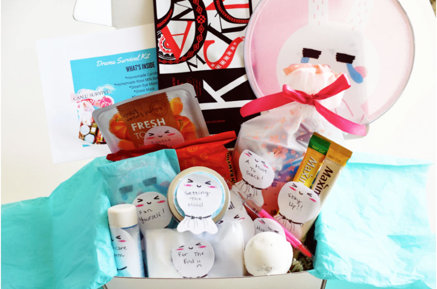 GIVEAWAY With Hello Drama Box and their Drama Survival Kit