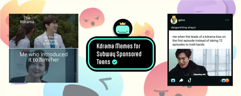 Kdrama Meme App on Whale