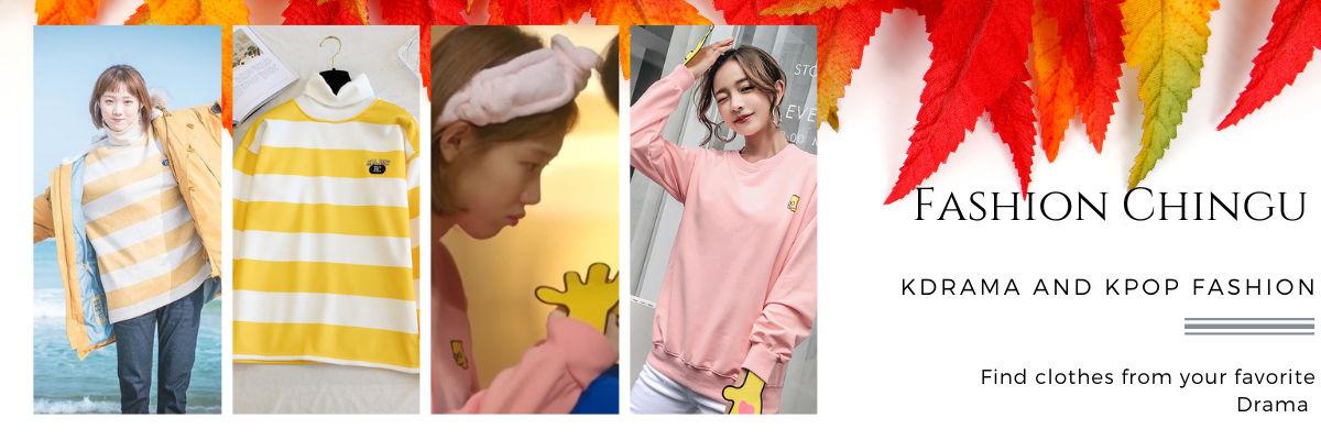 Korean drama fashion with Fashion Chingu