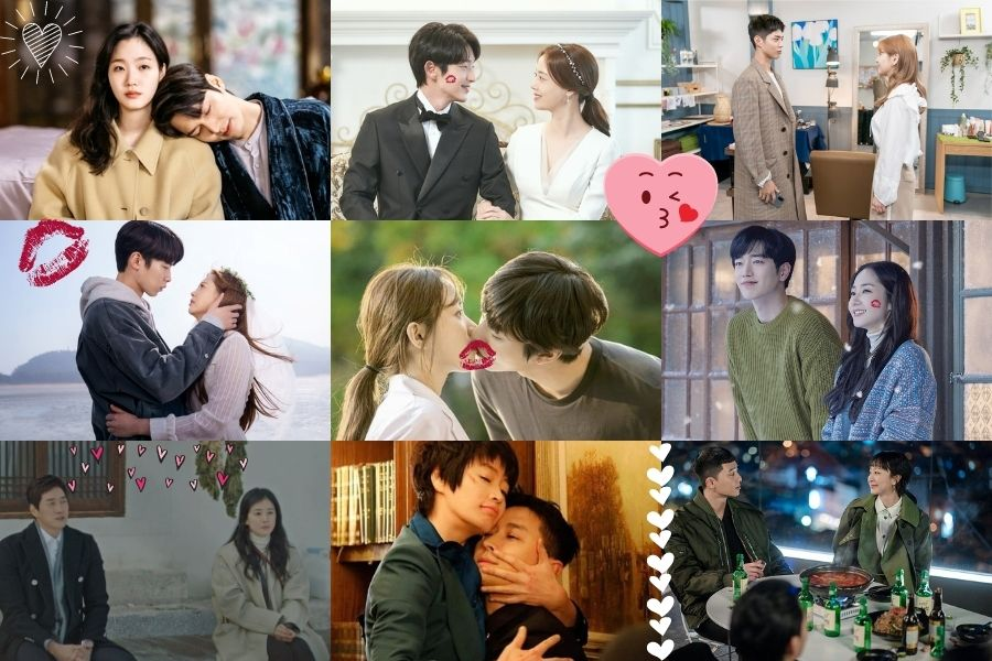 What K-drama couple had the best kiss of 2020? (Vote in the Milkies 2020)