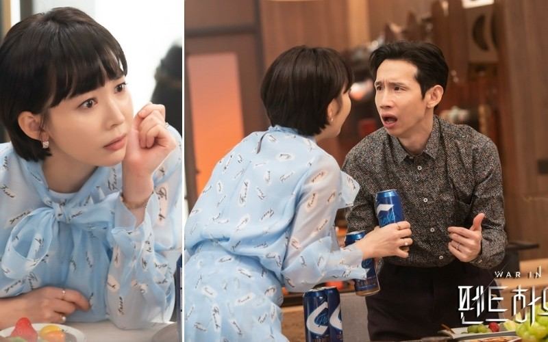 guy-jin-and-sang-ah- • Drama Milk