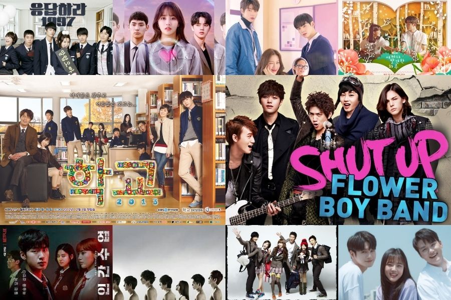 10 High School K-Dramas We Love